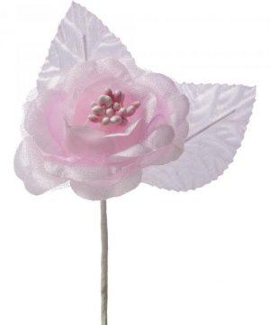"Artificial Silk Flower Boutonniere-1"" 12pc/bag - Blush - 240 Pieces"