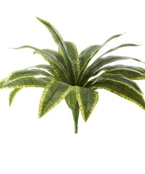 "Artificial Spider Leaf Bunch - 20"" - 48 Pieces"