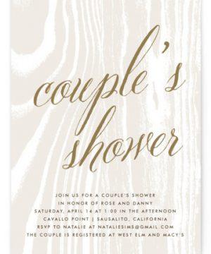 Big Sur Bridal Shower Invitations