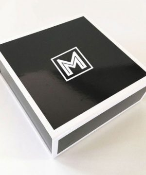 Black Groomsmen Gift Box