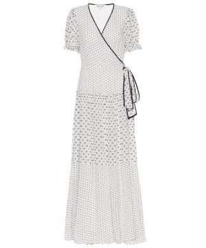 Breeze maxi wrap dress