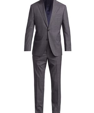 COLLECTION Subtle Glen Plaid Wool Suit