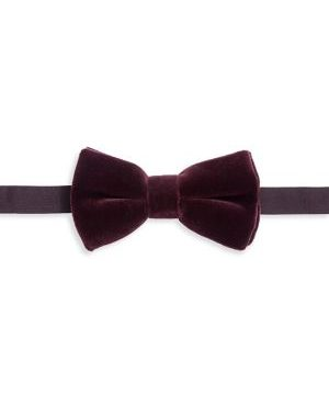 COLLECTION Velvet Bow Tie