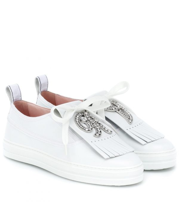 Call Me Vivier leather sneakers