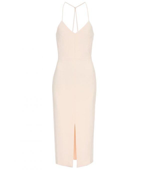 Cannock stretch-crêpe dress