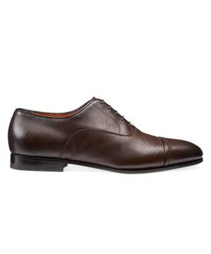 Cap Toe Lace-Up Dress Shoes