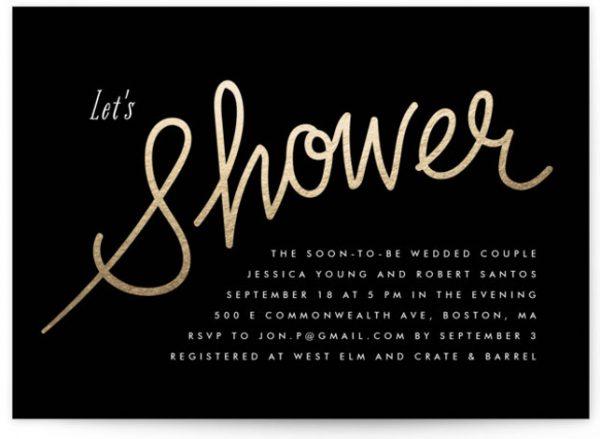 Charlemagne Bridal Shower Invitations