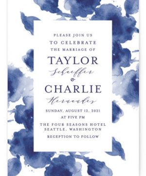 Cornflower Wedding Wedding Invitations