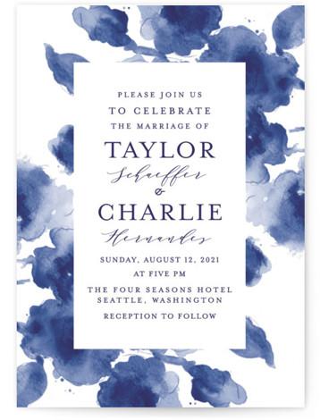 Cornflower Wedding Wedding Invitations