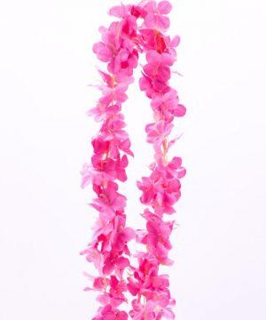 """Decostar Artificial Flower Garland 80"""" - 24 Pieces - Fuchsia"""