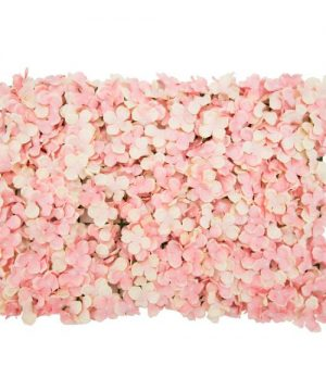 "Decostar Artificial Flower Mat 24"" - 12 Pieces - Blush"