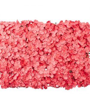 """Decostar Artificial Flower Mat 24"""" - 12 Pieces - Coral"""