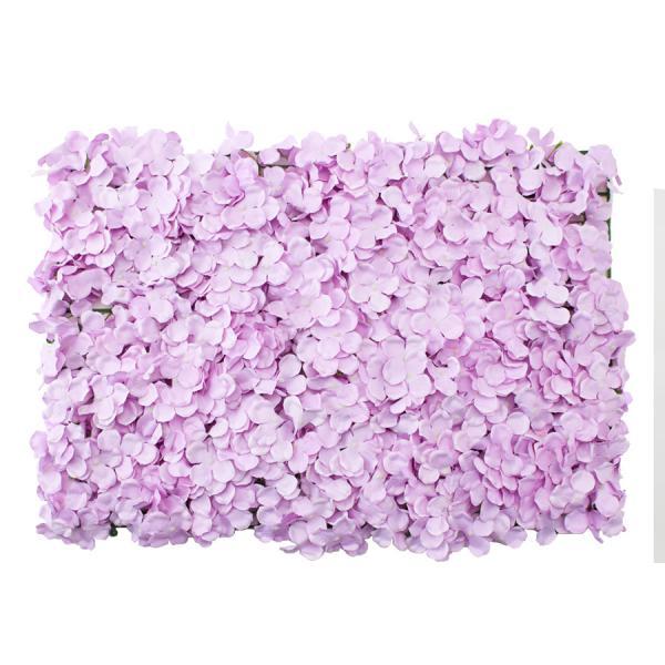 """Decostar Artificial Flower Mat 24"""" - 12 Pieces - Lavender"""