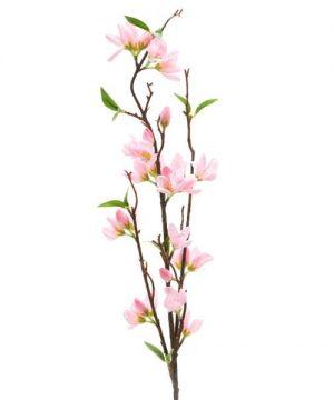 """Decostar Artificial Magnolia Branch 7 x 37½"""" - 24 Pieces - Pink"""