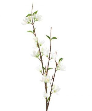 "Decostar Artificial Magnolia Branch 7 x 37½"" - 24 Pieces - White"