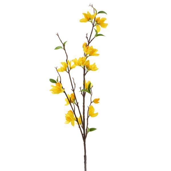"""Decostar Artificial Magnolia Branch 7 x 37½"""" - 24 Pieces - Yellow"""