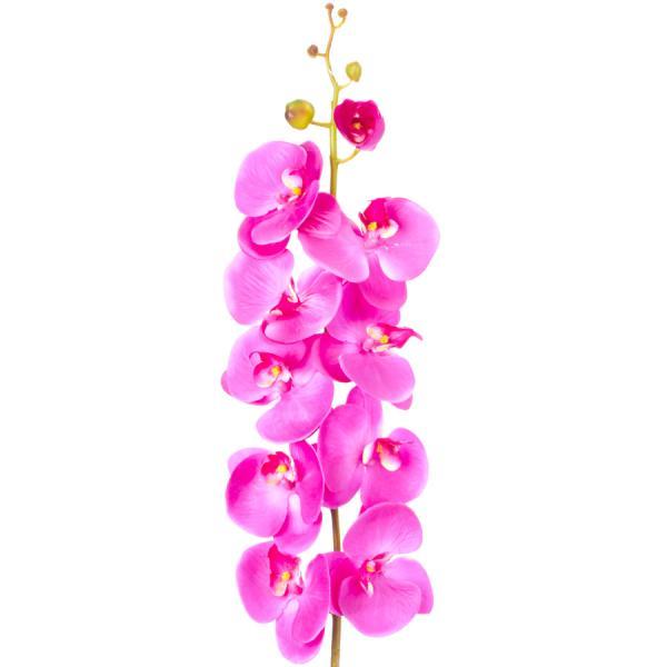 "Decostar Artificial Orchid 44"" - 6 Pieces - Purple"