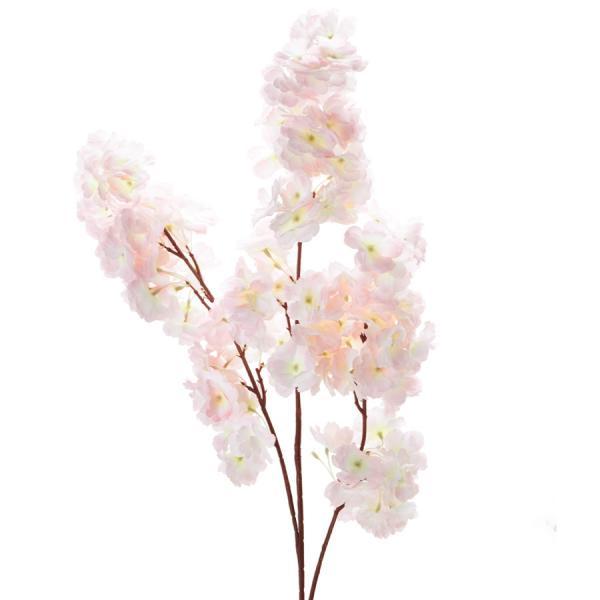 "Decostar Cherry Blossom Branch 42"" - 24 Pieces - Pink"