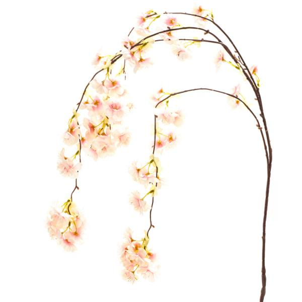 "Decostar Cherry Blossom Spray 56"" - 24 Pieces - Pink"