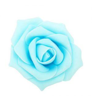 "Decostar Foam Rose 2"" - 12 Roses - Blue"