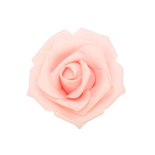 "Decostar Foam Rose 2"" - 12 Roses - Blush"