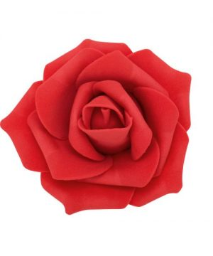 "Decostar Foam Rose 2"" - 12 Roses - Red"