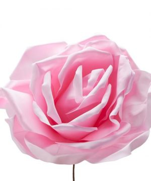 "Decostar Foam Rose 20"" - Pink"