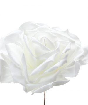 "Decostar Foam Rose 20"" - White"