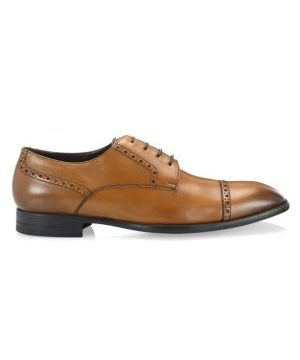 Derby Leather Dress Shoes