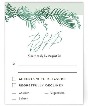Destination RSVP Cards