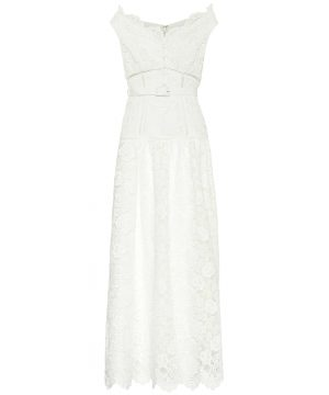 Exclusive to Mytheresa - Floral lace maxi dress
