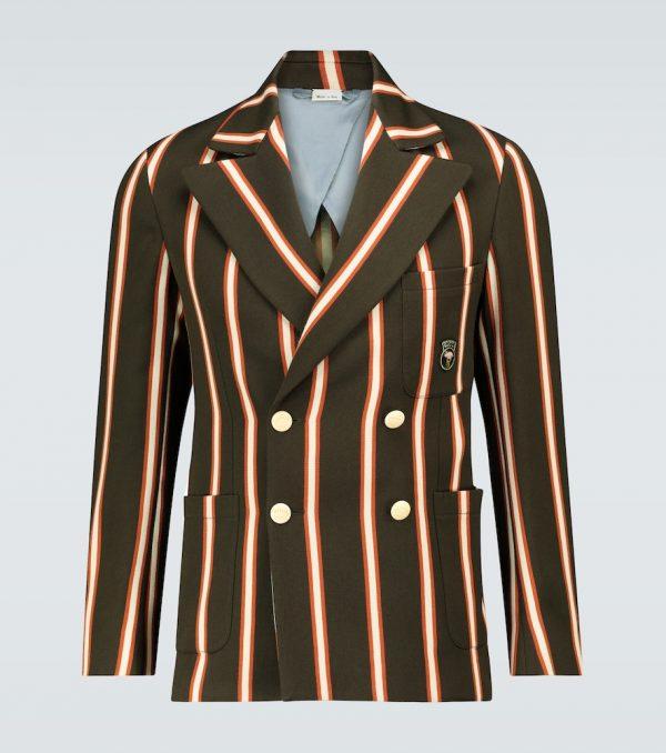 Exclusive to Mytheresa - regimental striped blazer