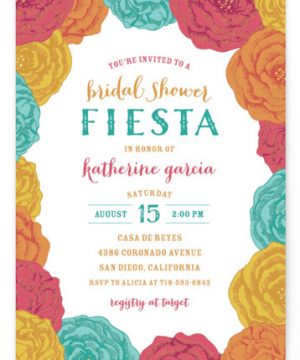 Fiesta! Bridal Shower Invitations