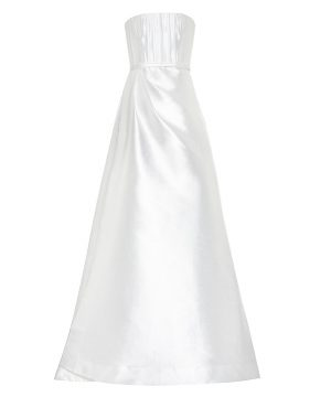 Georgia silk bridal gown