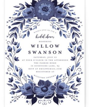 Glazed Bridal Shower Invitations