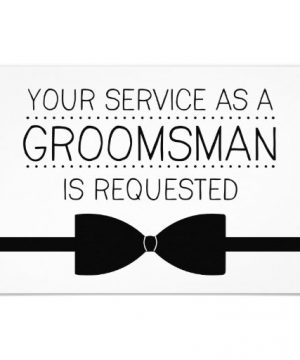 Groomsman Request Groomsmen Invitation