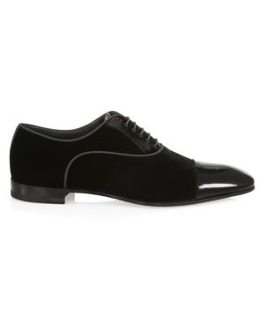 Hades II Velvet Dress Shoes