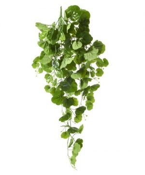 "Hanging Artificial Clover Bunch - 41"" - 12 Pieces"