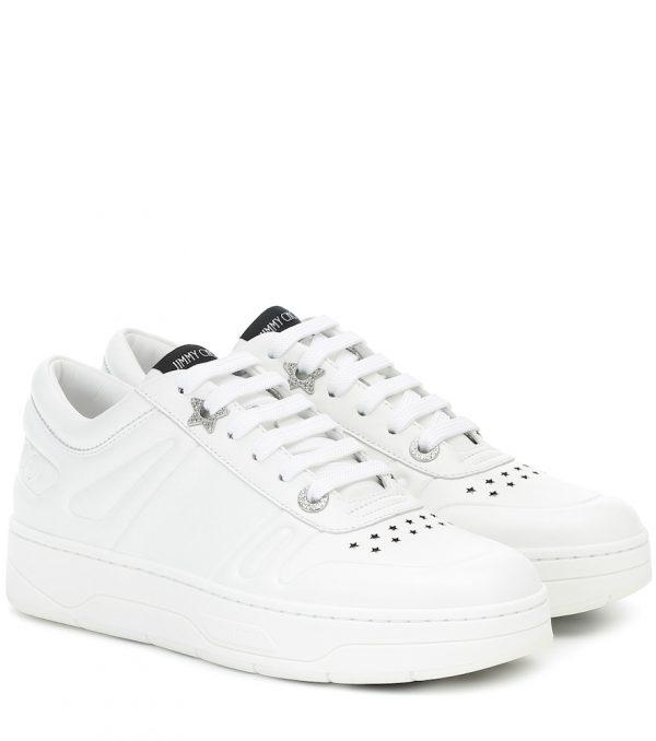 Hawaii/F leather sneakers