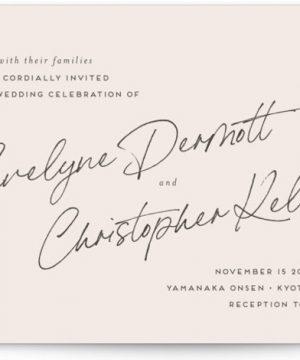 Hazelnut Wedding Invitations