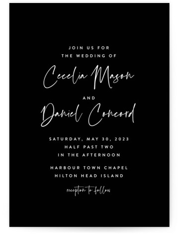 In This Together Wedding Invitations