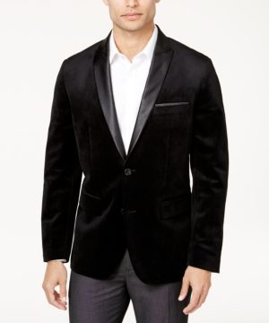 Inc Men's Mason Slim-Fit Velvet Blazer, Created for Macy's