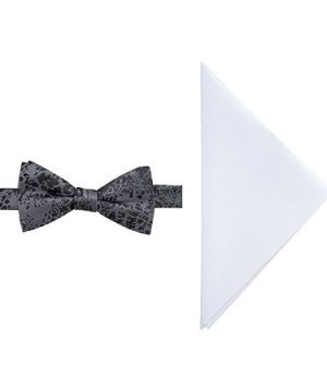 JF J.Ferrar Bow Tie Set, One Size , Black