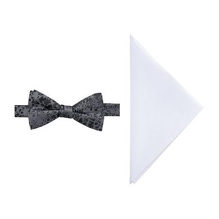 JF J.Ferrar Bow Tie Set, One Size , Black