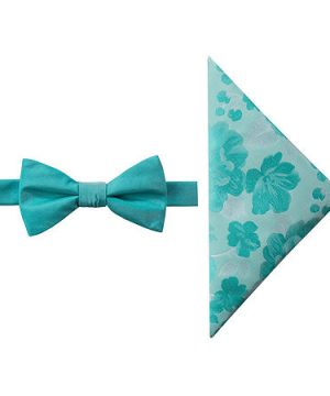 JF J.Ferrar Bow Tie Set, One Size , Green