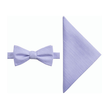 JF J.Ferrar Bow Tie Set, One Size , Purple