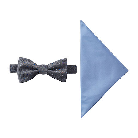 JF J.Ferrar Dots Bow Tie Set, One Size , Blue