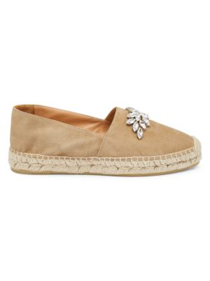 Jewelled Suede Espadrilles