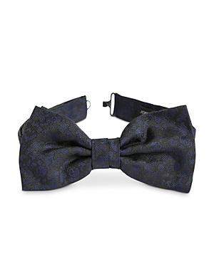 John Varvatos Star Usa Scattered Skull Silk Bow Tie