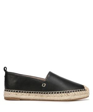 Khloe Leather Espadrilles